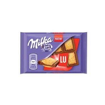 Шоколад Milka Sandwich LU с печеньем