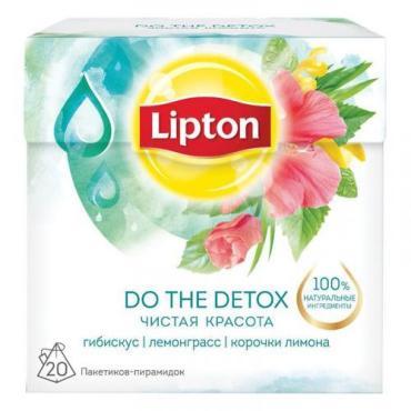 Чай Lipton Do the Detox травяной в пирамидках