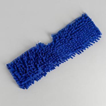 Насадка для плоской двусторонней швабры Доляна 40×10 см. микрофибра
