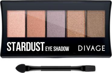 Палетка теней для век Divage Palettes Eye Shadow Stardust