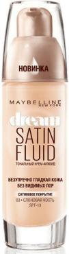 Тональный крем-флюид Maybelline New York Dream Satin Fluid 003 Слоновая кость