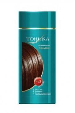Бальзам для волос Оттеночный 4.0 Шоколад, Тоника, 150 мл., Пластиковая бутылка