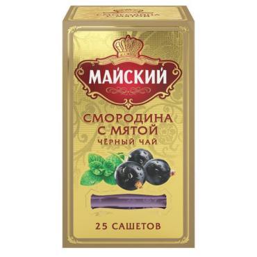 Чай Майский Смородина с Мятой 50 гр