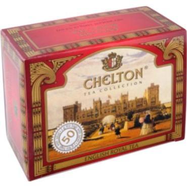 Чай черный Chelton Английский Королевский 50 пакетов