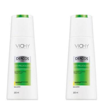 Косметический набор для волос Vichy Шампунь против перхоти, для сухих волос, 2 шт.
