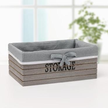 Короб для хранения Доляна Storage средний серый