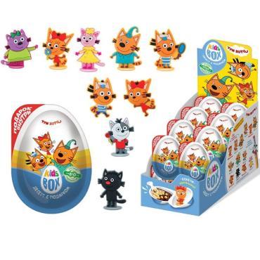 Десерт Kids Box Три кота с подарком, 40 гр., ПЭТ
