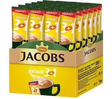 Кофе Jacobs мягкий 3в1