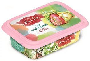 Сыр плавленый Жаворонки Сытное Угощение, 200 гр., пластиковый контейнер