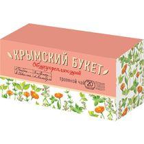 Чай травяной Крымский Букет Общеукрепляющий 20 пакетов