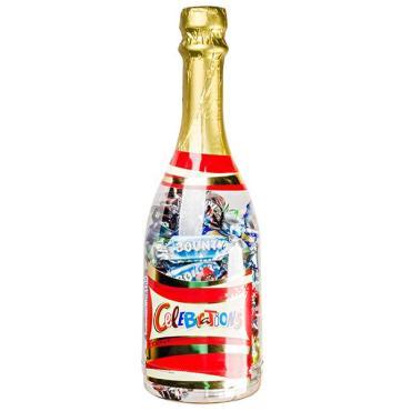 Набор конфет в подарочной упаковке Celebrations, Mars, 312 гр., пластиковая бутылка