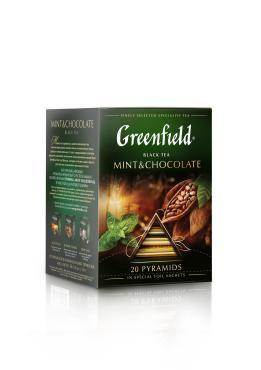 Чай черный Greenfield Mint & Chocolate 20 пакетиков