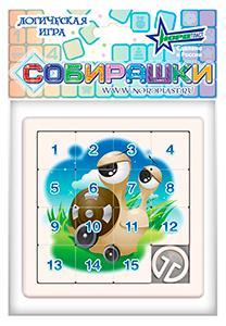 Игра логическая Собирашки голубой Нордпласт