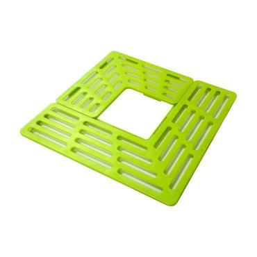 Сушилка-подставка для раковины Мультидом 28.5х28.5см, цвет микс