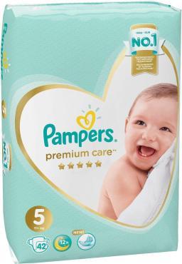 Подгузники Pampers Premium Care 5 11+ кг. 42 шт.