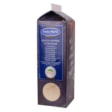 Перец белый молотый Santa Maria 500 гр., картонная коробка