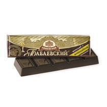 Батончик Бабаевский темный шоколад с шоколадной начинкой 50 гр.