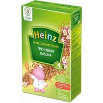 Каша Heinz низкоаллергенная гречневая с 4 месяцев