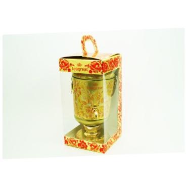 Чай Habibi Самовар Золотой элитный ароматизированный листовой