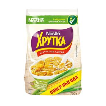 Готовый завтрак Nestle Хрутка кукурузные хлопья