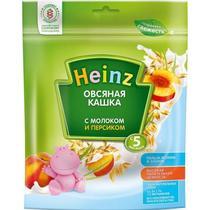 Каша Heinz молочная овсяная с персиком с 5 месяцев