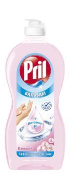 Бальзам для мытья посуды Pril с кальцием и витамином E