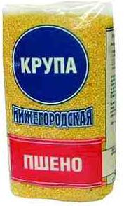 Крупа пшено Нижегородская шлифованная