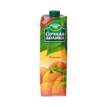 Сок Сочная Долина Апельсин