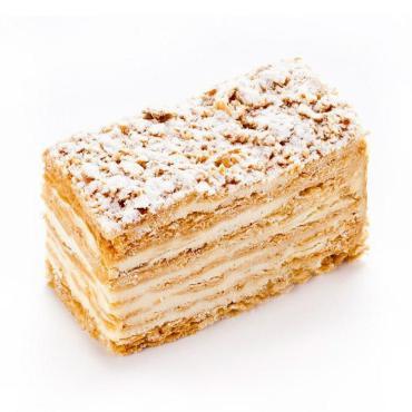Пирожное Слоянка Тридцать шестое с нежным кремом