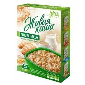 Живая каша Vita Пшеница 100% пророщенное зерно