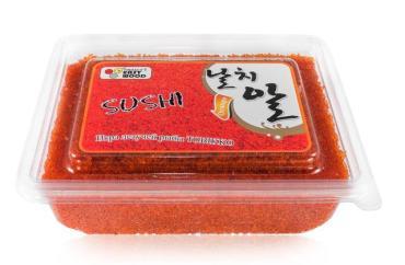 Икра летучей рыбы East Wood Tobikko Sushi Оранжевая