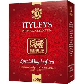 Чай особокрупнолистовой Hyleys, 200 гр., картонная коробка