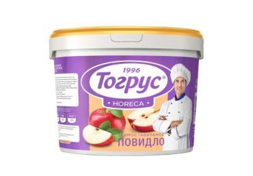 Повидло термостабильное, Яблоко, Персик 11 кг., пластиковое ведро