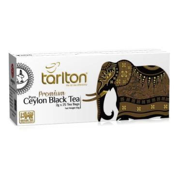 Чай черный Tarlton Золотой цейлон 25 пакетов