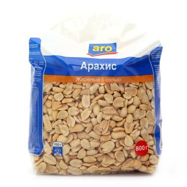 Арахис Aro жареный с солью