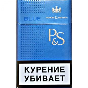 Сигареты P&S с фильтром Parker Simpson Intense Blue