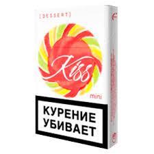 Сигареты 20 штук Kiss dessert mini, картонная пачка