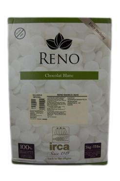 Шоколад белый Irca Reno Blanc Superieur 42%, Италия