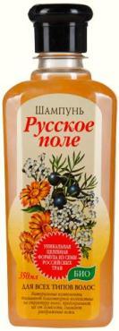 Шампунь Русское поле Био 7 трав Для всех типов волос