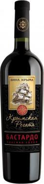 Вино Крымская Регата Бастардо красное сухое 12%