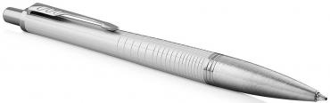 Ручка шариковая Parker Urban Premium Pearl Metal CT синяя 1,0 мм.
