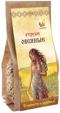 Отруби овсяные мелки помол Дивинка, 400 гр., бумажная упаковка