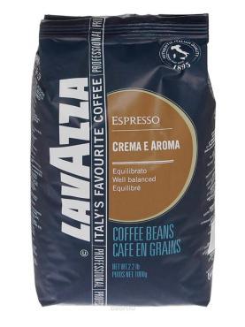 Кофе Lavazza Crema e Aroma Espresso в зернах 1 кг