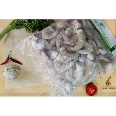 Креветки королевские замороженные 21/25 1 кг