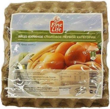 Яйцо куриное столовое Fine Life С1, 30 шт