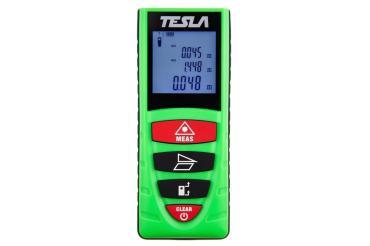 Дальномер лазерный, дальность 40 метров, точность ±2мм Tesla D40, 160 гр., картонная коробка