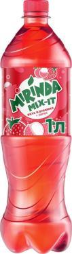 Газированный напиток Mirinda Mix-It Клубника-Личи