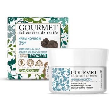 Крем BelKosmex Gourmet ночной Восстановление против признаков усталости кожи с экстрактом черного трюфеля