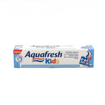 Детская зубная паста Aquafresh Мой первый зубик до 2 лет низкая абразивность