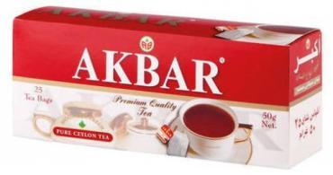 Чай Akbar черный байховый цейлонский мелкий